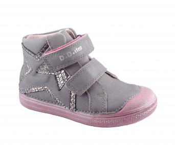 Zvětšit D.D.Step - 049-905 AL grey, dívčí celoroční obuv