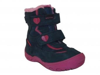 Zvětšit Protetika - Diana blue, dívčí zimní obuv