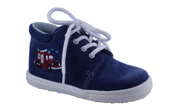Zvětšit Jonap J022/S hasič modrá, dětská celoroční obuv