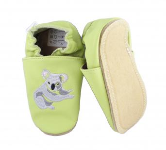 Zvětšit BABICE kožené capáčky - EM-036 koala SAFESTEP, 00