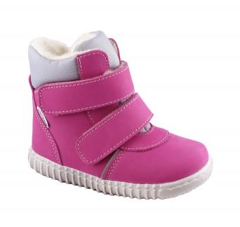Zvětšit Bosé Pegresky - 1706 růžová, zimní obuv, 00