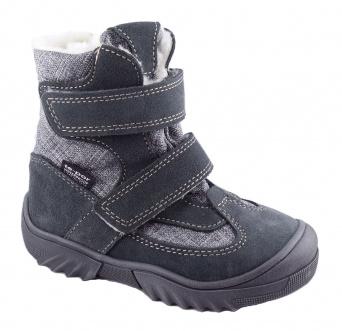 Zvětšit Jonap - J024/S šedá, 01 chlapecká zimní obuv s membránou
