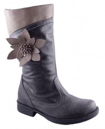 Zvětšit Kornecki 4593 GRAFIT, dívčí zimní obuv