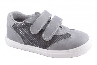 Zvětšit Jonap J053/M šedá třpyt, celoroční obuv 00