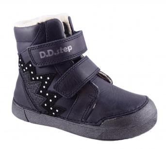 Zvětšit D.D.Step - 068-286AL violet, dívčí zimní obuv
