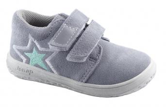 Zvětšit Jonap J-B1/S/V hvězda šedá, celoroční obuv BAREFOOT