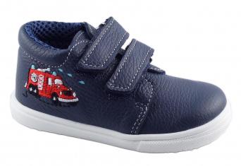 Zvětšit Jonap J022/M/V hasiči modrá, dětská celoroční obuv