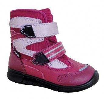 Zvětšit Protetika - Maron fuxia, 00 zimní obuv s membránou