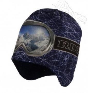Zvětšit RDX čepice 3550 tm.modrá, chlapecká zimní čepice